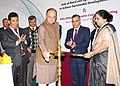 Arun Jaitley lighting the lamp at the International Forum on Role of Rural and Agricultural Finance to Achieve Sustainable Development Goals and 69th APRACA Executive Committee Meeting, hosted by NABARD, in New Delhi.jpg