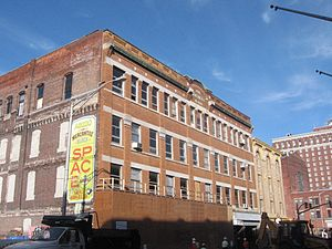 AS220 - The Mercantile Block building in 2009