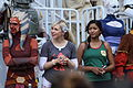 Ashley Eckstein and Tiya Sircar May 2014.jpg