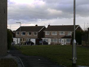 Ashtons - Ashton semi detached houses in Holt Park, Leeds, built in the early 1970s.