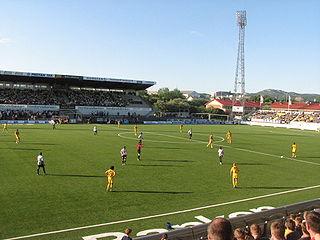 Aspmyra Stadion Norwegian municipal footbal stadium