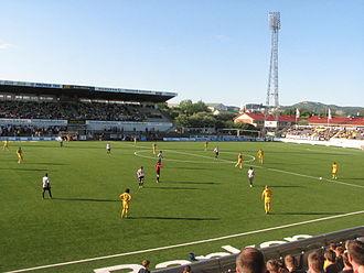 2014 Tippeligaen - Image: Aspmyra stadion