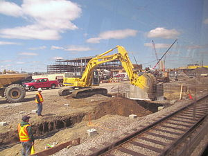 Assembly Square station work April 2013.JPG