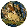 Assiette, Hercule et Cacus - Francesco Xanto Da Rovigo (L 665).jpg