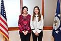 Assistant Secretary Breier Meets With Fabiana Rosales, Wife of Interim President Guaido (47428755212).jpg