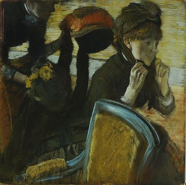 At the Milliner's-Degas