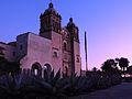 Atardecer, Templo de Santo Domingo de Guzmán, Oaxaca.jpg
