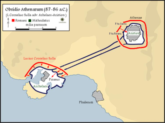 Siege of Athens and Piraeus (87–86 BC) - The final phase of the siege.