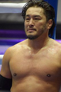 Atsushi Aoki Japanese professional wrestler