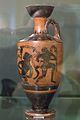 Attic black-figure lekythos Heracles satyrs, 500 BC, Prague, NM-H10 2475, 151897.jpg