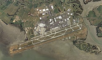 Auckland Airport - Aerial view