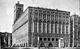 National Register of Historic Places listings in Central Chicago - Image: Auditorium Building Chicago