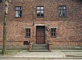 The medical experimentation block in Auschwitz I
