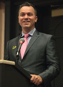 Austin Petersen at 2016 FreedomFest cropped.jpg