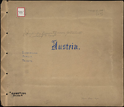 Austria, Tupper Scrapbooks Front cover (Boston Public Library).jpg
