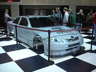 Car of Tomorrow - A Car of Tomorrow body with Toyota Camry decals