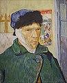 Autoportrait à l'oreille bandée de Vincent Van Gogh (Fondation Vuitton, Paris) (47428131321).jpg