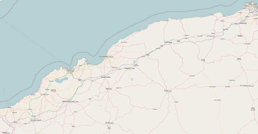Carte Algerie Autoroute Est Ouest.Autoroute A1 Algerie Wikipedia
