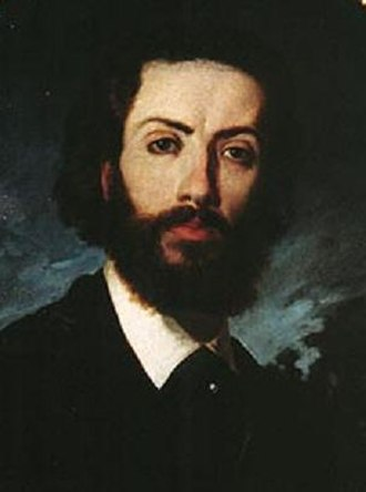 José Jiménez Aranda - Self-portrait of José Jiménez Aranda painted around 1870. Museo de Bellas Artes de Sevilla.