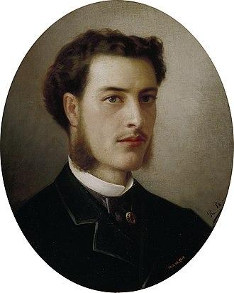 Ricardo Balaca - Self-portrait, c.1863