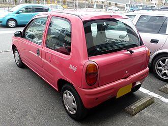 Mazda Carol - Autozam Carol rear