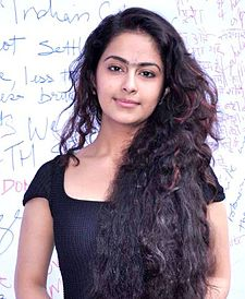 Avika Gor at the protest against Delhi rape case.jpg