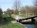 Aylesbury Arm, Puttenham Top Lock (No 10) - geograph.org.uk - 1442989.jpg