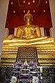 Ayutthaya Phra Mongkhon Bophit Temple Buddha Statue (46445113852).jpg