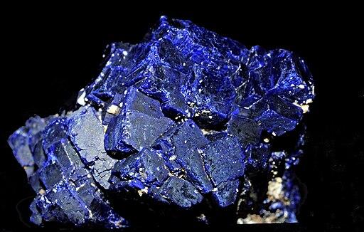 Azurite cristallisée (Chine) 3