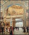 Béroud - Le dôme central de la galerie des machines à l'exposition universelle de 1889 - P2314 - Musée Carnavalet.jpg