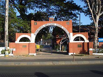 Bangalore Military School - Main entrance