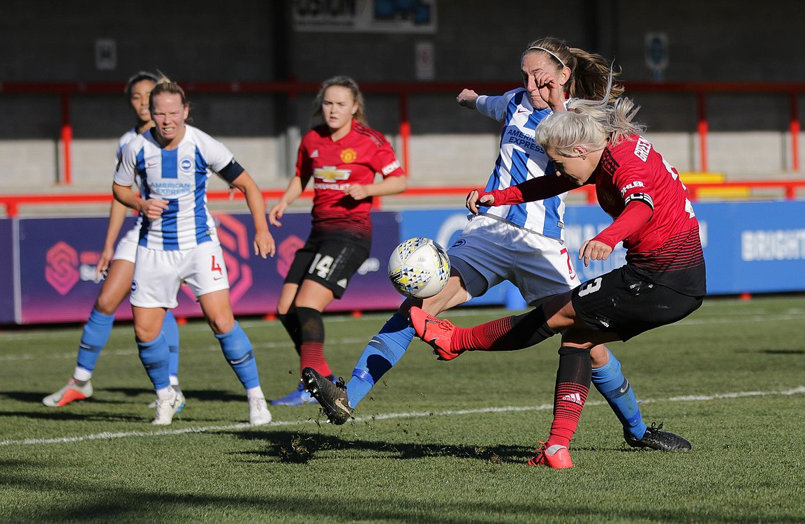 BHA Women 0 Man Utd Women 2 WFAC 4th rd 03 02 2019-1015 (40021485443).jpg