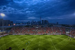 2015 Pan American Games - Exhibition Stadium staged the rugby sevens competition