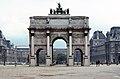 Back view of the Arc de Triomphe du Carrousel, Paris 1981.jpg