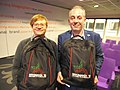 Backpacks from Wikimania 2015 at WCN2017.jpg