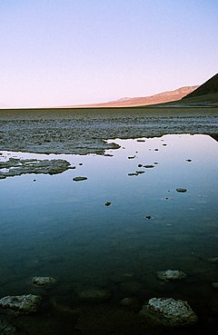 Badwater Basin - Simple English Wikipedia, the free ... H2o Water