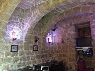Baħar iċ-Ċagħaq Redoubt - Image: Bahar ic Caghaq Redoubt interior