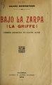Bajo la zarpa - comedia dramática en cuatro actos (IA bajolazarpacomed487bern).pdf