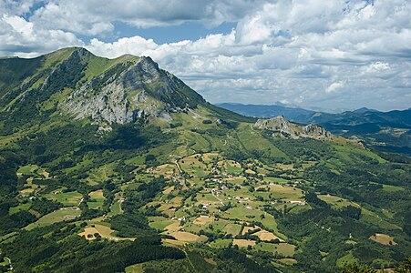 Picture of Balerdi mountain.