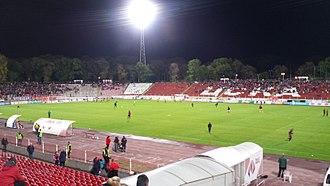 Balgarska Armia Stadium - Image: Balgarska Armija 2017