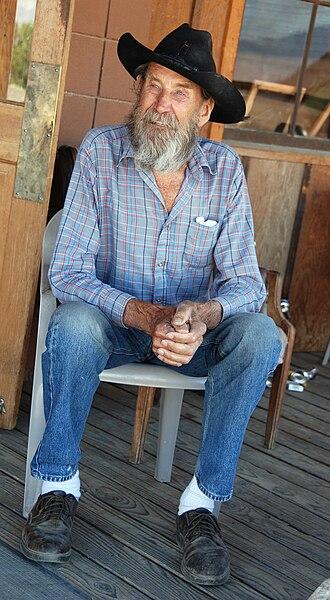 Ballarat, California - Former Ballarat resident George Novak