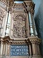 Ballum - Kanzel Himmelfahrt mit Inschrift.jpg