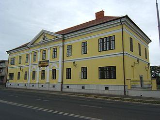 Balmazújváros - Image: Balmazújváros, kastély