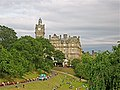Balmoral Hotel from Princes Street Gardens Edinburgh - panoramio.jpg