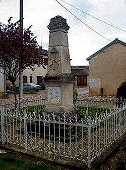 Balnot monument aux morts pacifiste Maudite soit la guerre..jpg