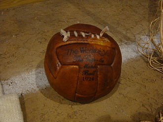 Sevilla FC - Club ball in the museum.