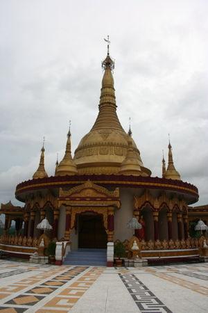 Buddha Dhatu Jadi - Image: Bandarban Buddhist Temple