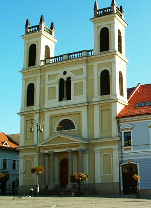 Roman Catholic Diocese of Banská Bystrica - Cathedral of St. Francis Xavier in Banská Bystrica