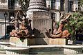 Barcelona - Urlaub 2014 - Brunnen & Park am Platz Duc de Medinaceli - Details 002.jpg