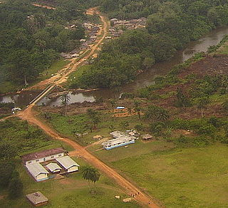Barclayville Place in Grand Kru County, Liberia
